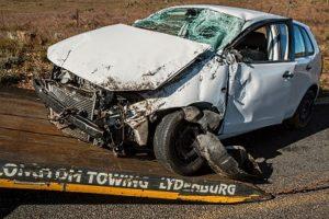 urazy spowodowane wypadkami samochodowymi